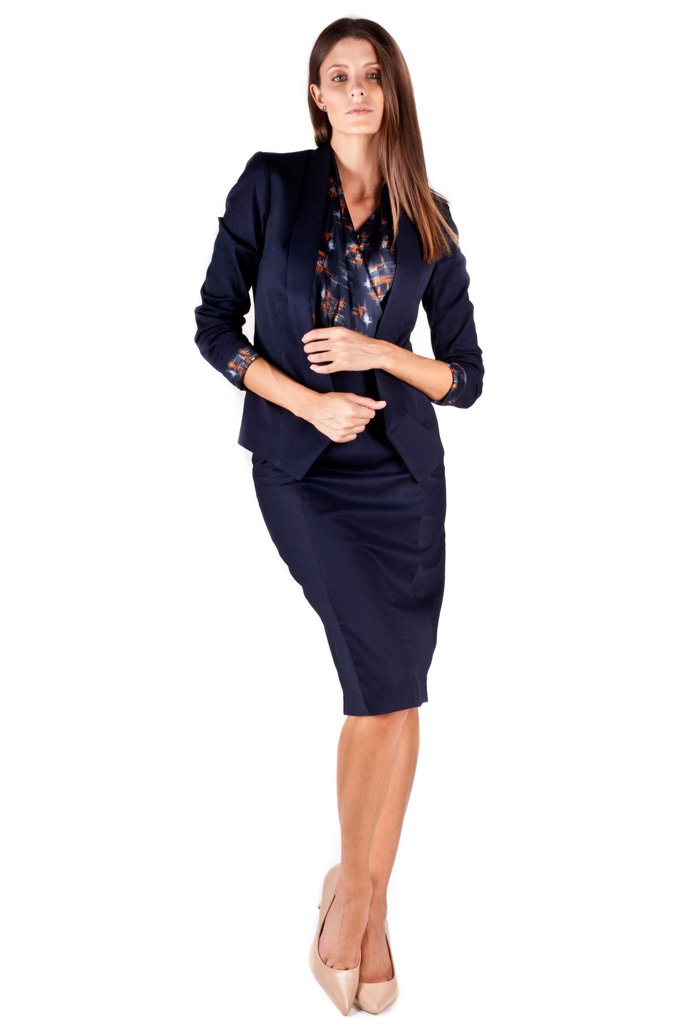 The Game Changer Skirt Suit