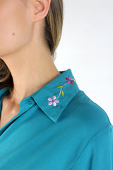 Fiercely Floral Blouse