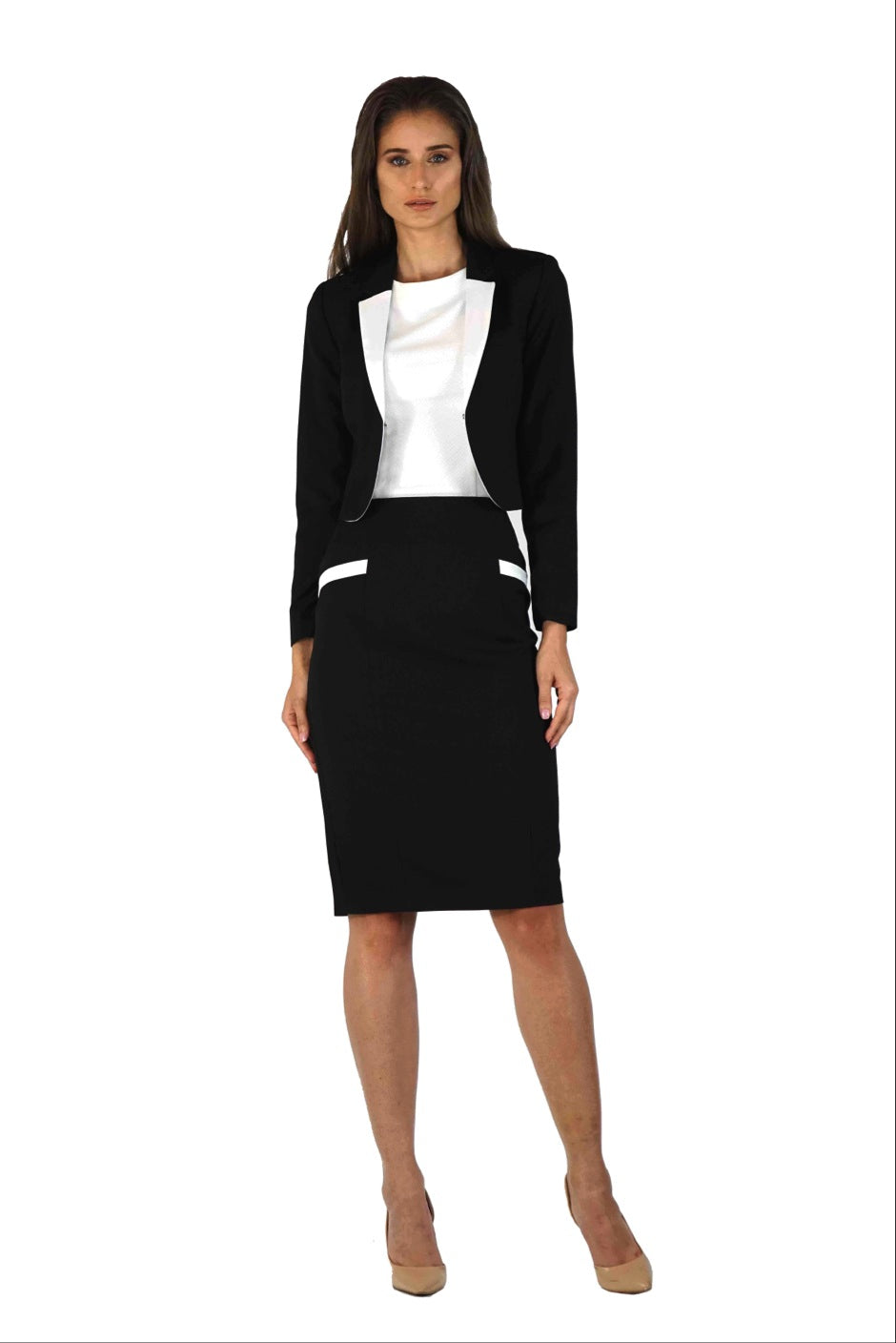 Take Flight Skirt Suit