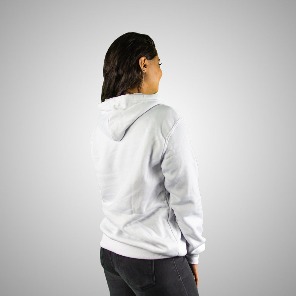 Women's Lifestyle Hoodies (White) - Stuze