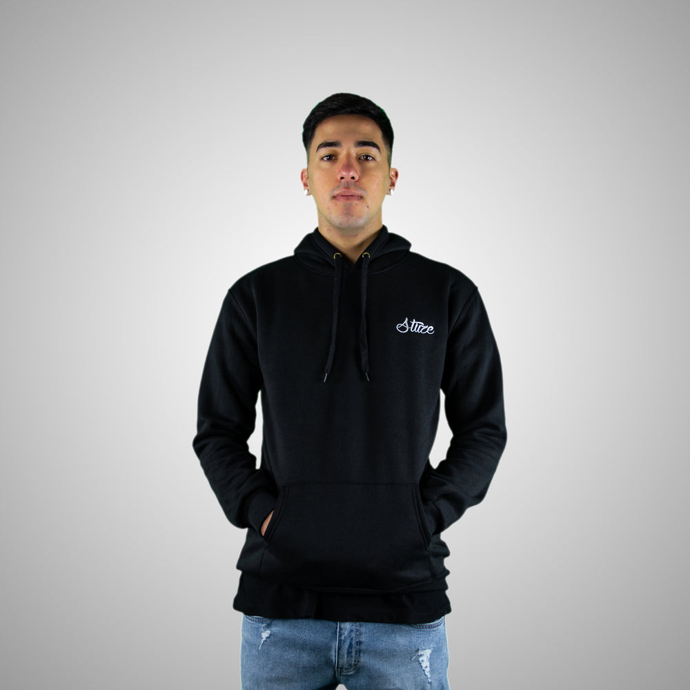 Men's Lifestyle Hoodies (Black) - Stuze