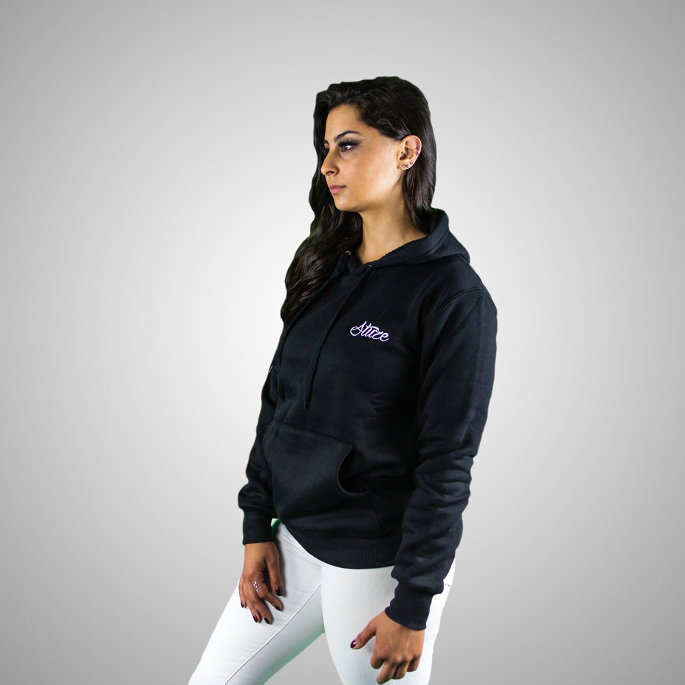 Women's Lifestyle Hoodies (Black) - Stuze