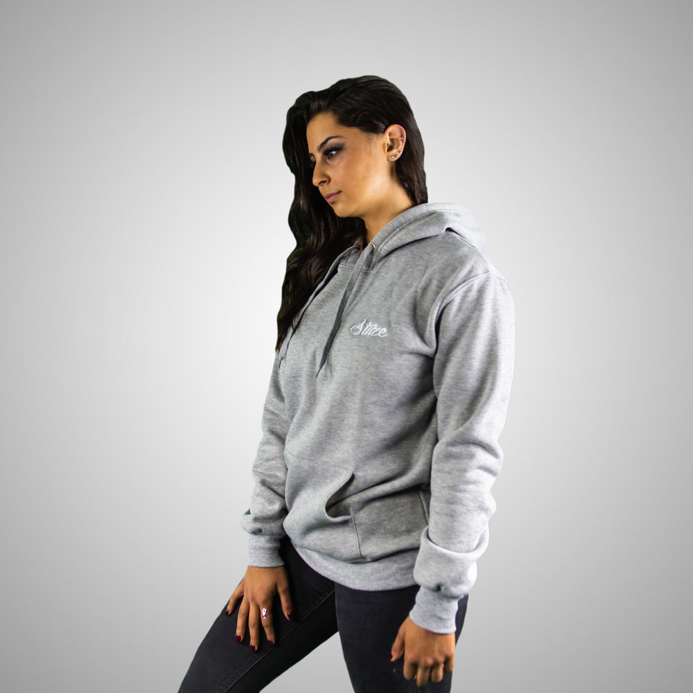 Women's Lifestyle Hoodies (Grey) - Stuze