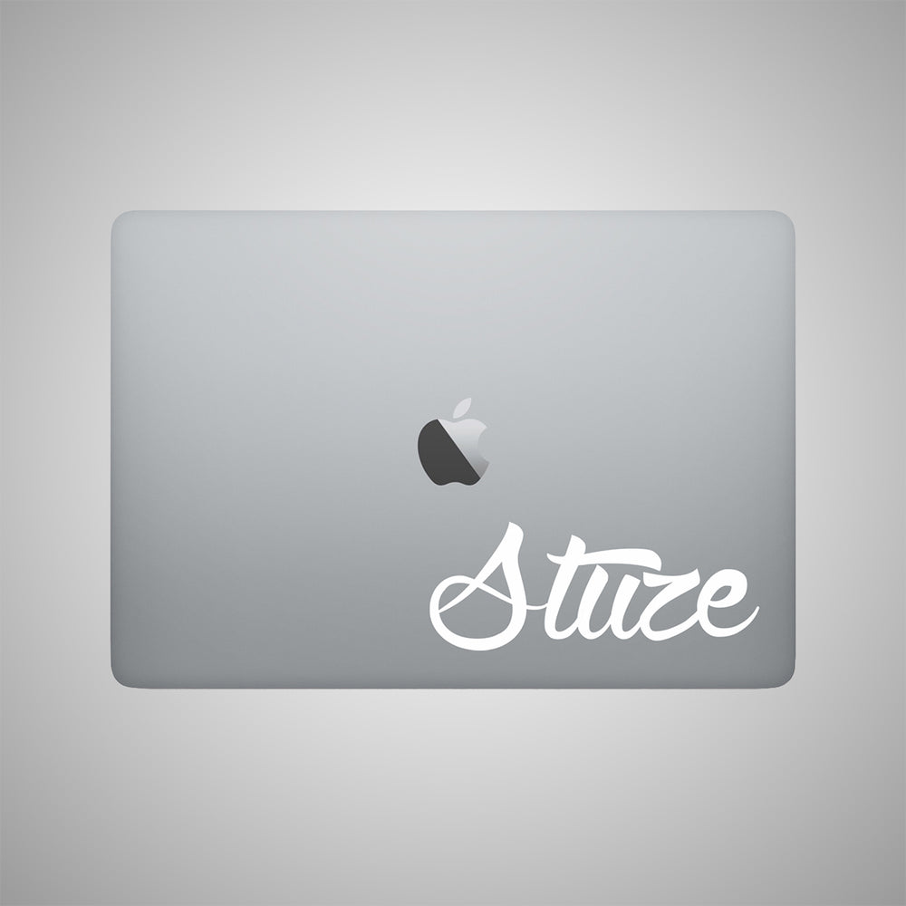 Lifestyle Transfer Stickers (White) - Stuze