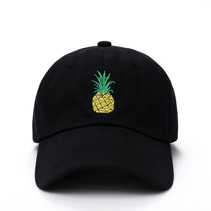 Embroidered Pineapple Baseball Hat
