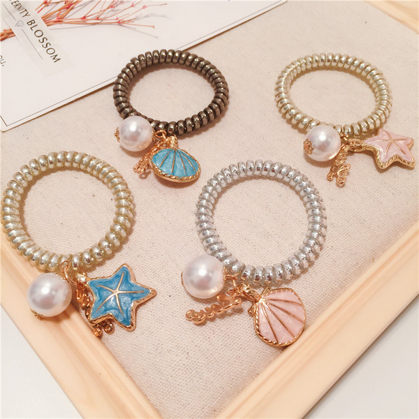 Lance Cute Shell & Star Fish shaped Hair Band Wholesale Fashion Jewelry