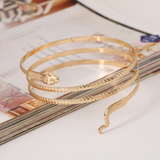 Lance Delicate and Cool Snake shaped Bracelet Wholesale Fashion Jewelry