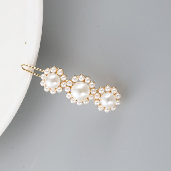 Lance Full Pearl Butterfly Bowknot Hairpin Korean Hairclips Barrette Bobby Pin