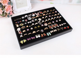 Lance 100-bit Uncovered Ring Earrings Jewelry Storage Jewelry Tray