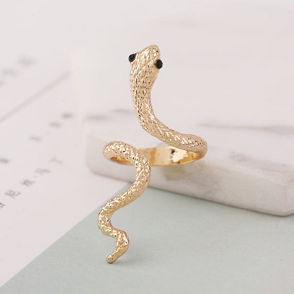 Lance Retro Ornaments Bague Serpent