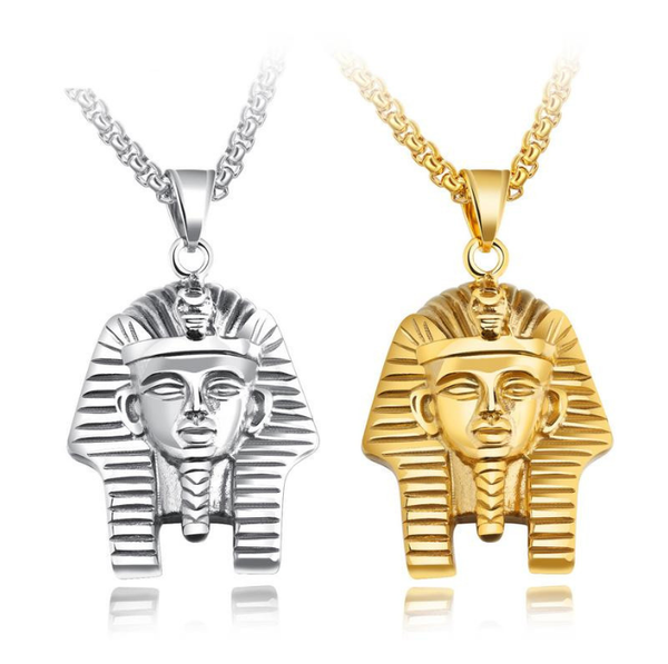 Lance Fashion Style Europe And The United States Hot Sale Egyptian Pharaoh Pendant Hip Hop Necklace Male