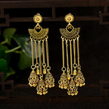 Lance Retro Long Dangle Chain Tassel Earrings Girls Ear Studs