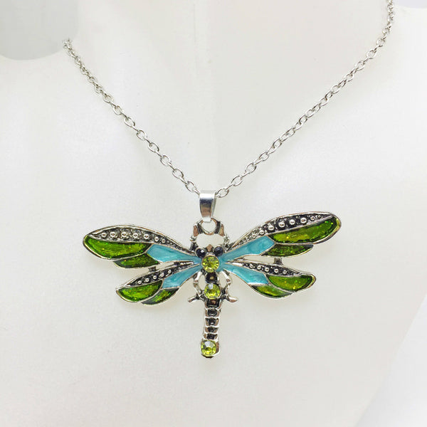 Lance Cute Dragonfly shaped Alloy Necklace Wholesale Fashion Jewelry