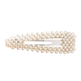 Lance Pearl Hairpin Simple Geometric  Triangle Square Hairpin