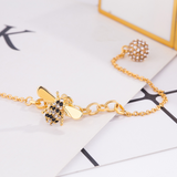 Lance Fashion Golden Bee Bracelet Ladies Nuevo