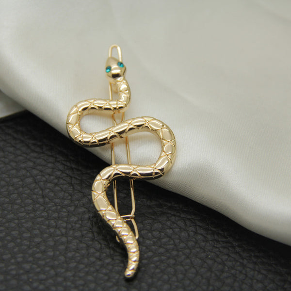 Lance Europe-America Simple Fashion Hollow Snake Hairpin Clip