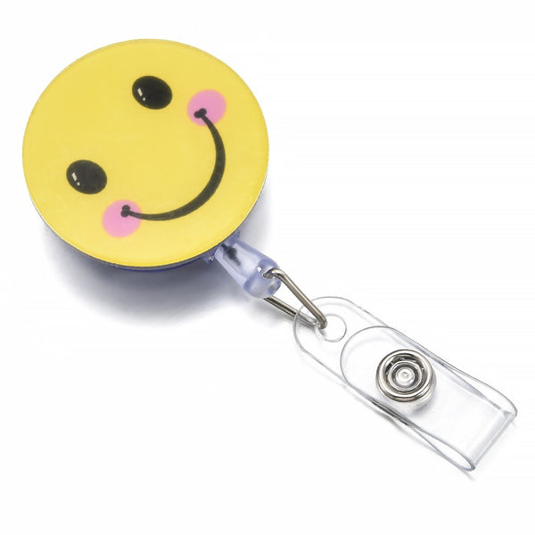 Lance Cute ID Name Card Retractable  Badge Holder Brooch  Cartoon Reel Pull Badge