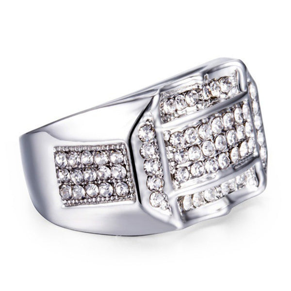 Lance Men's Jewelry Eternity Ring For Him Husband Father gift