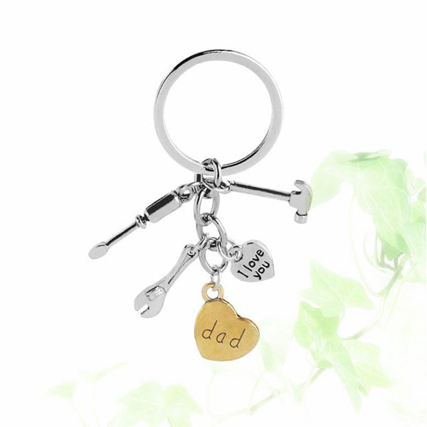 Lance Father Birthday Gifts Father's Day Keychain I Love You Dad Keychain Jewelry Gift