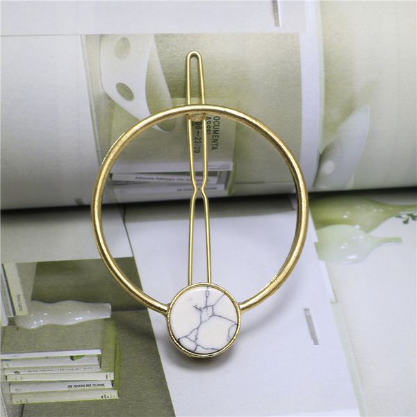 Lance Hot Selling Fashion Simple Geometric Alloy Female Hairpin
