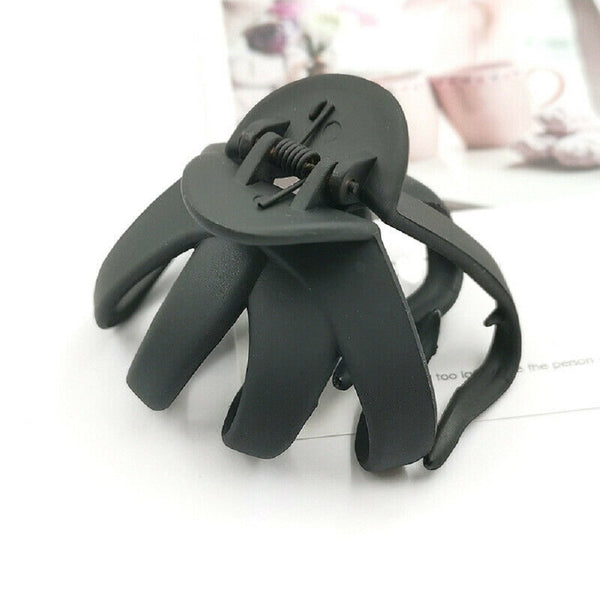 Lance Solid Geometric Hollowing Large Hair Claw Crab Clamp Hair Clip Hair Accessories