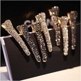 Lance wholesale Korean alloy Pearl toothed duck-billed hairpin clip