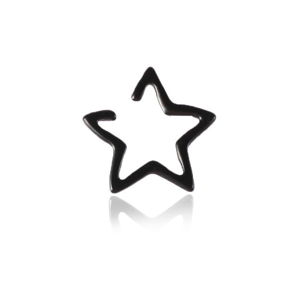 Lance 2018 Nueva Moda Hollow Star Ear Clip