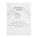 Lance Fashion Cute Hot Selling Angel Wings Pendant Necklace