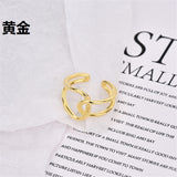 Lance Female Fashion Personality European and American Simple Exaggerated Retro Index Finger Ring