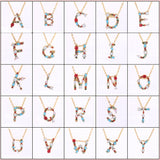 Lance Jewelry Gifts DIY Name Mother's Day Valentine's Day Initial Pendant Necklace