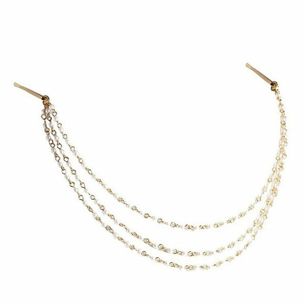 Lance Women Rhinestone Head Chain Jewelry Headband Head Piece Hair Band