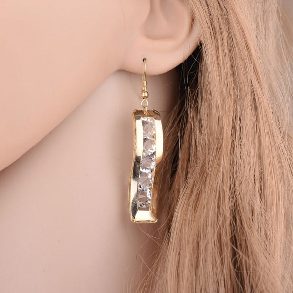 Lance Europe and the United States Exaggerated Fashion Temperament Earrings