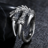 Lance Cool Dragon Finger shaped Open Ring Wholesale Fashion Jewelry