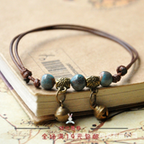 Lance Ceramic Fashion Hot Selling Hand-woven Fresh Literature Bracelet Anklet