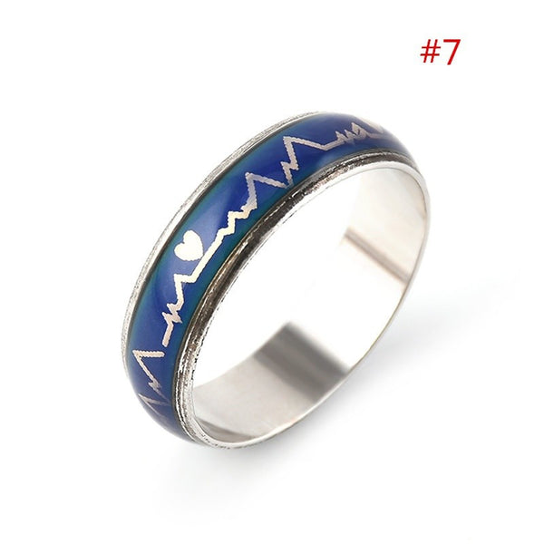 Lance Fashion Temperature Colour Changing Mood Emotion Ring Gift Present