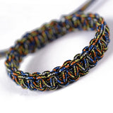 Lance Europe And The United States Outdoor Survival Men and Women Bracelet Army Fan Hand-woven Hand Rope