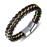 Lance Europe And The United States Men's Leather Bracelet