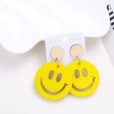 Lance Cute Smiling Face shaped Earrings Wholesale Fashion Jewelry