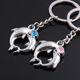 Lance Cute Fashion Dolphin Shaped Gift Couple Key Chains
