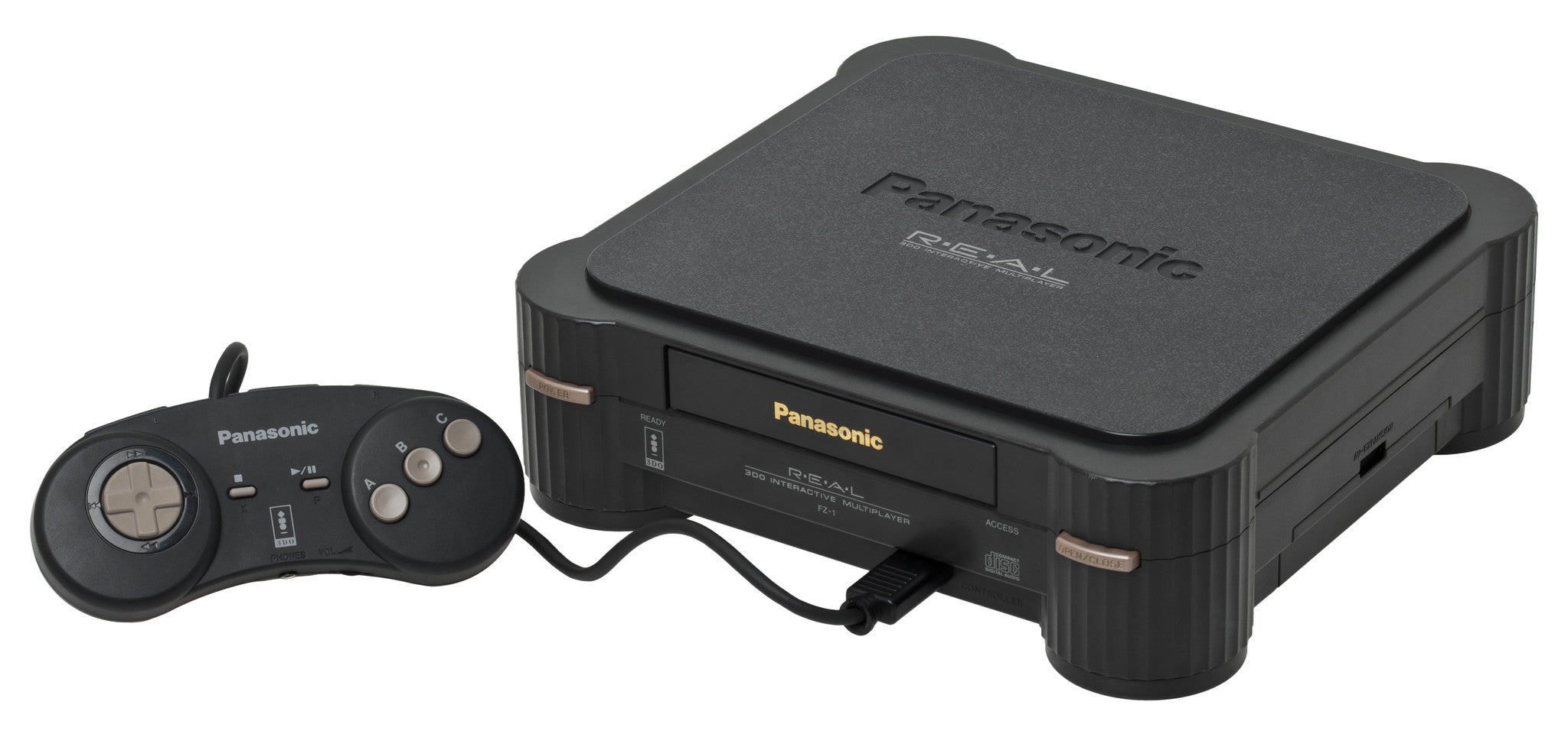 Panasonic 3DO FZ-1 Retropixl Retrogaming retro gaming Rare Console Collector Limited Edition Japan Import
