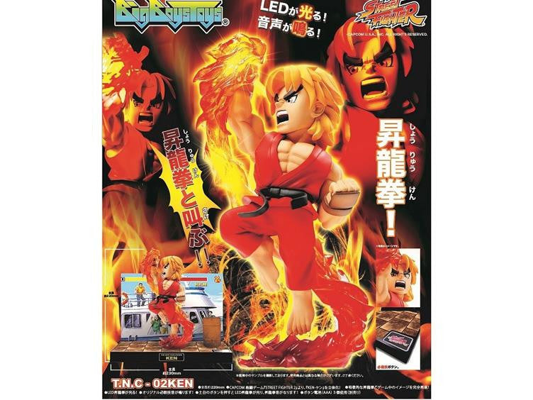 Street Fighter The New Challenger Figure 02 - Ken Retropixl Retrogaming retro gaming Rare Console Collector Limited Edition Japan Import
