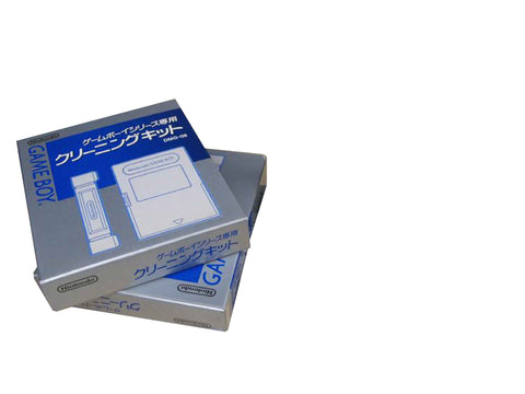 Nintendo Game Boy / Game Boy Advance Official Game Cleaning Kit Retropixl Retrogaming retro gaming Rare Console Collector Limited Edition Japan Import