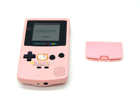 Nintendo Game Boy Color Hello Kitty Retropixl Retrogaming retro gaming Rare Console Collector Limited Edition Japan Import