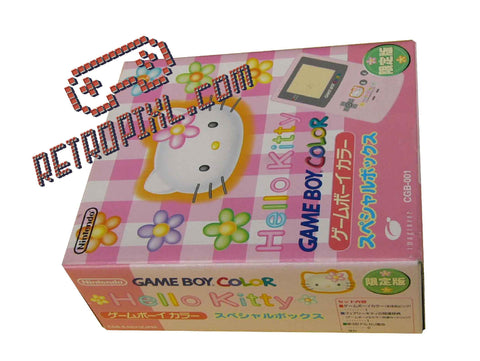 Nintendo Game Boy Color Hello Kitty LIMITED EDITION