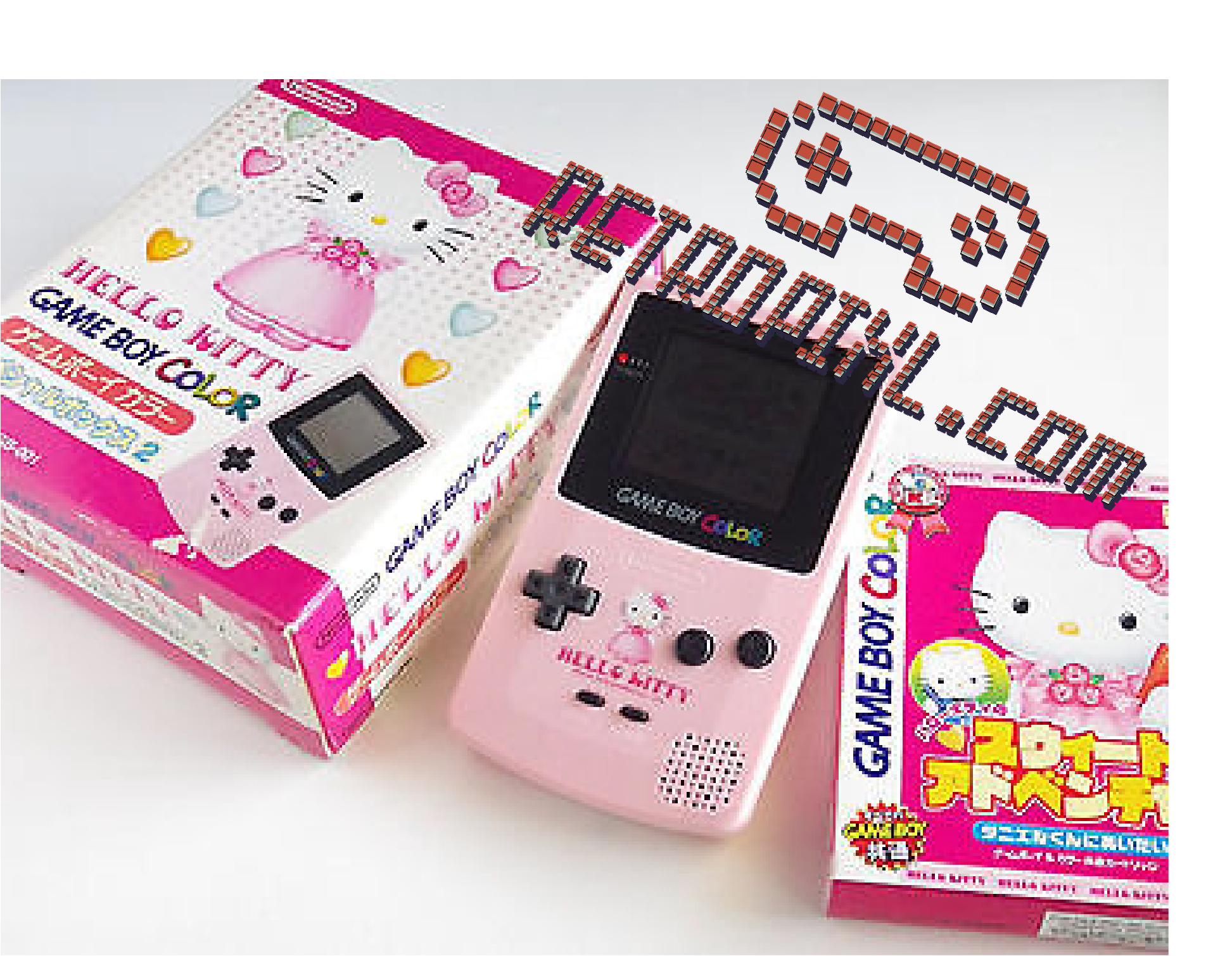 Nintendo Game Boy Color Hello Kitty Special Edition LIMITED EDITION