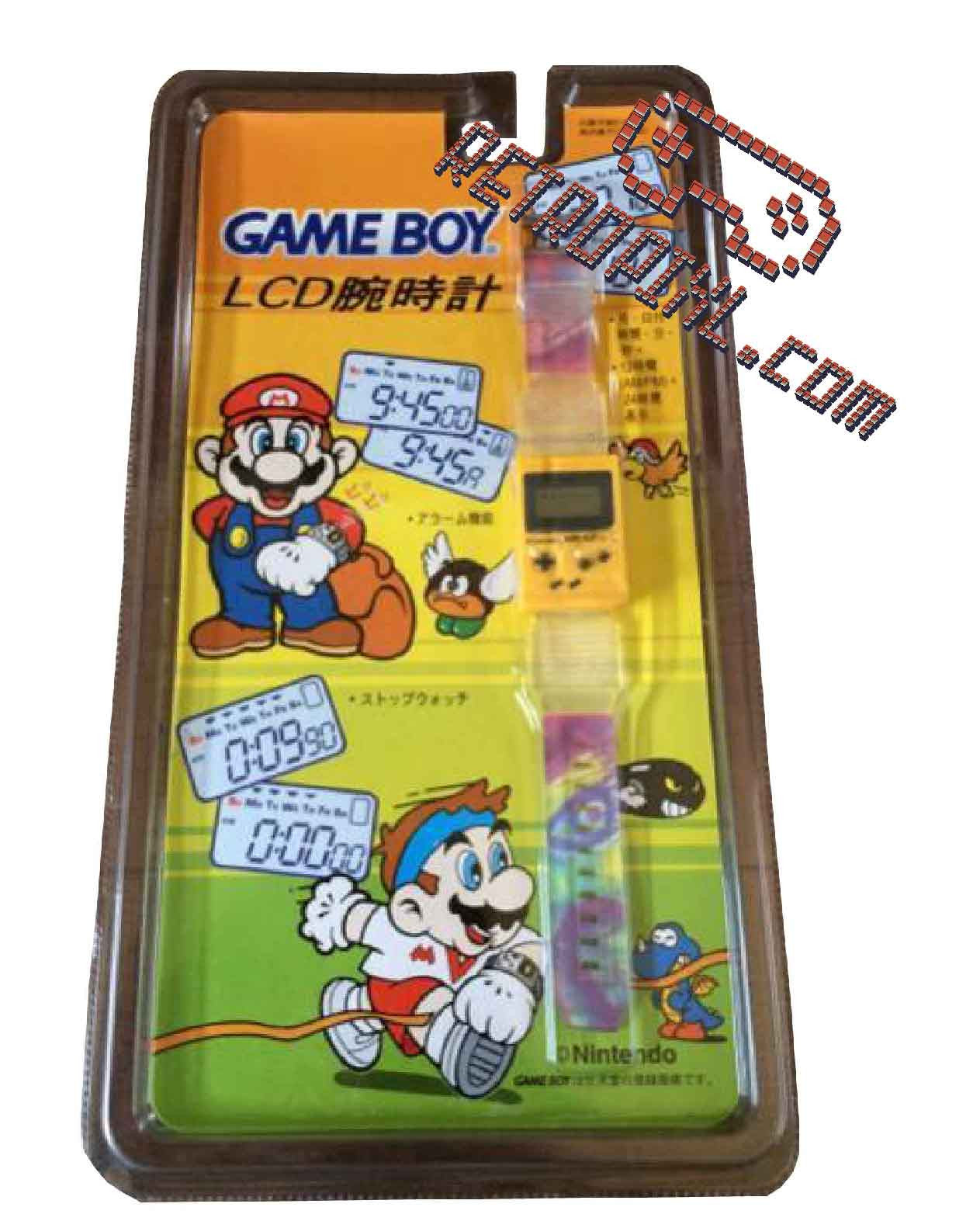 Nintendo Game Boy  LCD Watch - LIMITED EDITION Asian Version