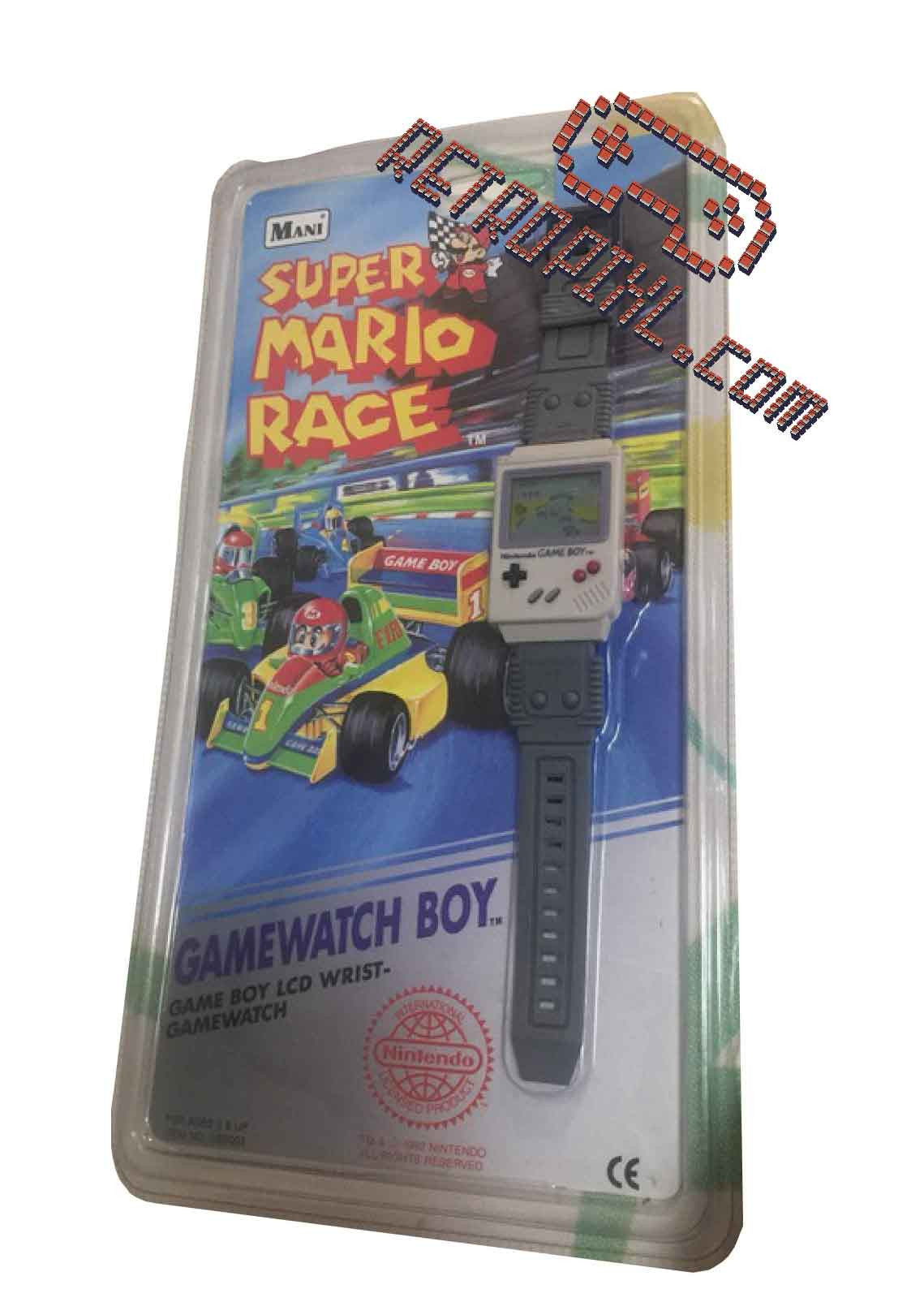 Nintendo Game Watch Boy Mario Race LIMITED EDITION