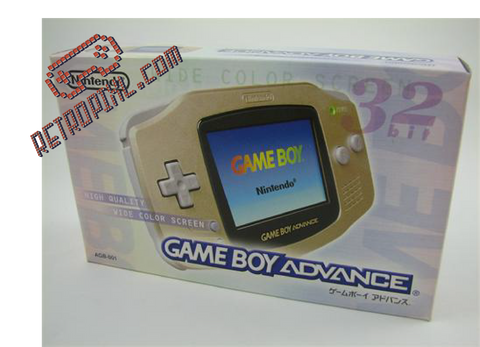 Nintendo Game Boy Advance Gold LIMITED EDITION