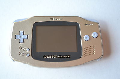 Nintendo Game Boy Advance Gold Retropixl Retrogaming retro gaming Rare Console Collector Limited Edition Japan Import