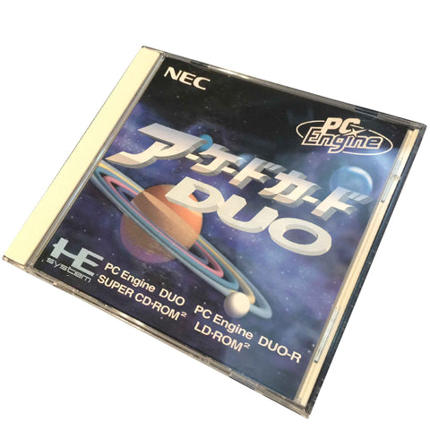 Nec Pc-Engine Arcade Card Duo Rom Ram HuCARD (RAM Extension) Retropixl Retrogaming retro gaming Rare Console Collector Limited Edition Japan Import